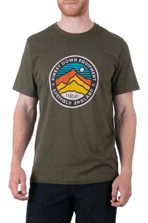 Rab Stance 3 Peaks s Short Sleeve T-Shirt - Army