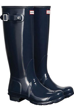 Hunter Original Tall Gloss s Wellies - Navy