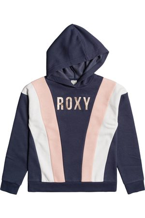 Roxy One Call Away Girls Pullover Hoody - Mood Indigo