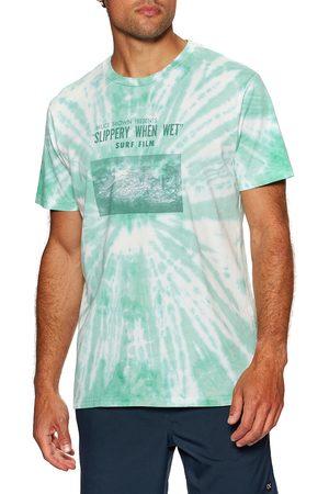 OUTERKNOWN Slippery When Wet Tie-dye s Short Sleeve T-Shirt - Ultramarine