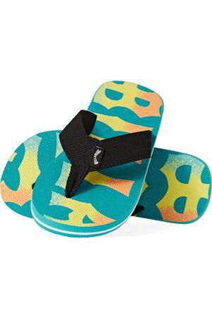 Billabong All Day Theme Boys Flip Flops - Mint