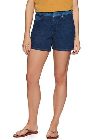 Superdry Women Shapewear - Mid Rise Slim s Shorts - Mill Wash Mixing