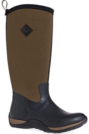 Muck Women Wellingtons Boots - Arctic Adventure s Wellies - Tan