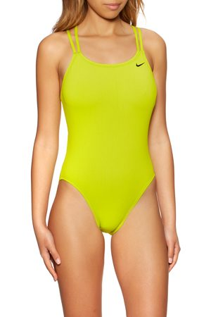 Nike Hydrastrong Solid Spiderback Swimsuit - Cyber