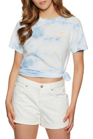 Billabong Women Short Sleeve - Take A Trip s Short Sleeve T-Shirt - Ice