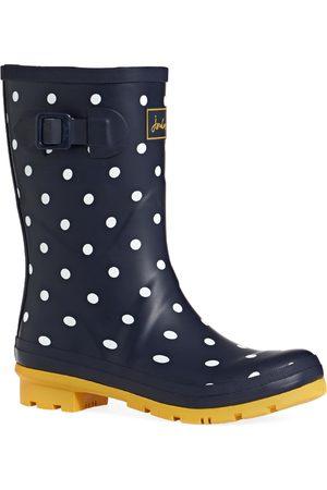 Joules Women Wellingtons Boots - Molly s Wellies - Navy Spot