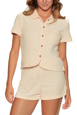 Brixton Marquee Terry s Short Sleeve Shirt - Soft