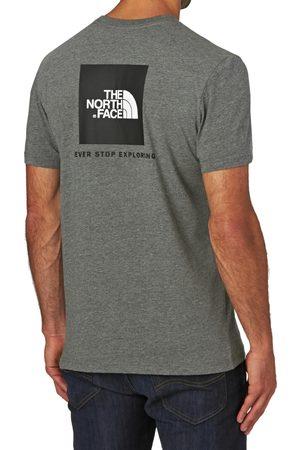 The North Face Men Short Sleeve - North Face Red Box s Short Sleeve T-Shirt - TNF Medium Heather