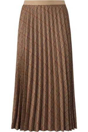 Atelier Gardeur Pleated skirt Prince-of-Wales check size: 10