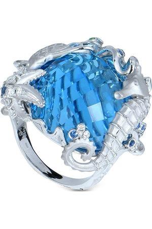 Carrera Women Rings - 18kt white gold diamond Estrella Marina ring