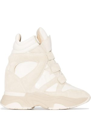 Isabel Marant Balskee touch-strap wedge sneakers