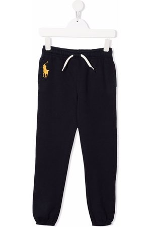 Ralph Lauren Kids Embroidered polo Pony track pants