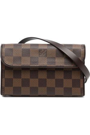 Louis Vuitton 2007 pre-owned Damier Ebène Florentine belt bag