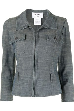 Chanel Pre-Owned 2003 CC buttons denim jacket