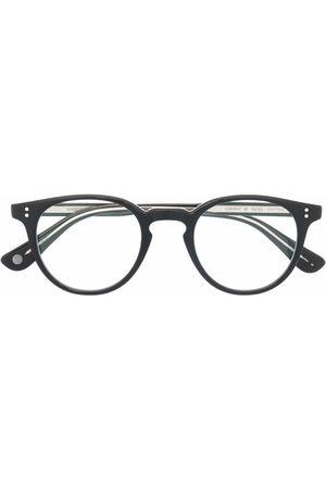 Garrett Leight Clement 46 round glass frames