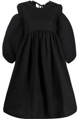 Cecilie Bahnsen Drop puff sleeve flared dress