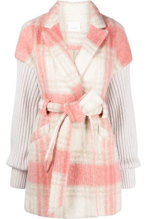 Cinq A Sept Layered panelled jacket