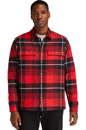 Timberland Men Summer Jackets - Insulated buffalo shirt jacket for men in , size l