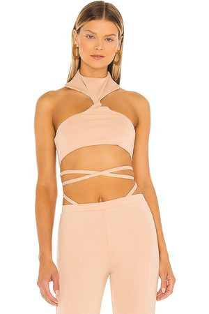 h:ours Atlas Cropped Top in . Size XXS, XS, S, M, XL.