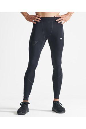 Superdry Men Sports Leggings - Sport Men's Run Tight Pants
