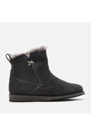 Emu Women Ankle Boots - Women's Beach Mini Water Resistant Suede Boots