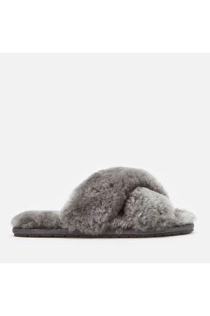 Emu Women Slippers - Women's Mayberry Sheepskin Cross Front Slippers