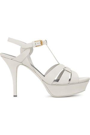 Saint Laurent Women Platform Sandals - Tribute Platform Sandals 75