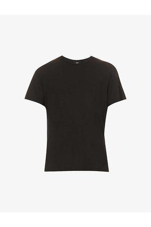 Paige Cash crewneck cotton-blend T-shirt