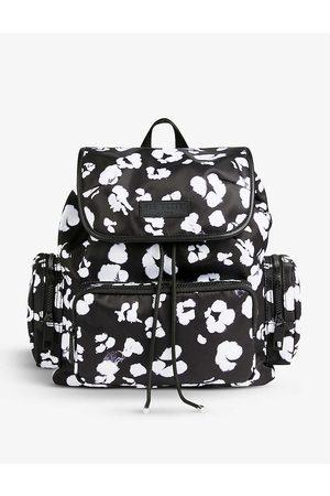 Ted Baker Women Rucksacks - Shefa leopard-print shell backpack
