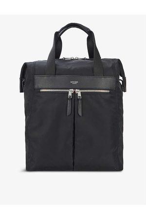 Knomo Women Rucksacks - Chiltern brand-print shell backpack