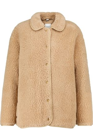 Burberry Wool-blend fleece jacket