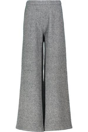 Proenza Schouler Wide-leg wool and yak-blend pants