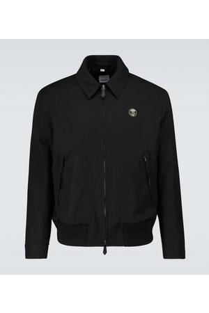 Burberry Stanmore blouson wool jacket