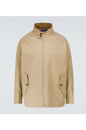 JUNYA WATANABE Cotton-blend Harrington jacket