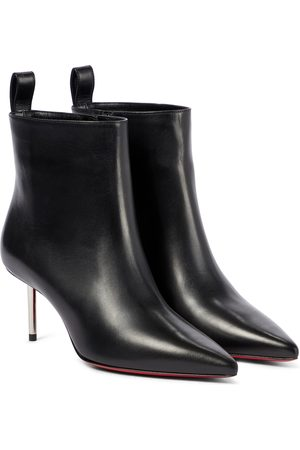 Christian Louboutin Epic 70 leather ankle boots