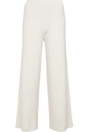 JONATHAN SIMKHAI Lenore wide-leg wool-blend pants