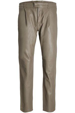 jack & jones Jxaddie Lamb Leather Trousers