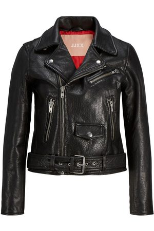 jack & jones Jxholly Leather Biker Jacket