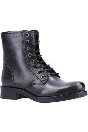 Geox Women Lace-up Boots - Rawelle Leather Lace Up Boots