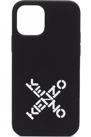 Kenzo Women Phones - Logo-print iPhone 12/12 Pro case