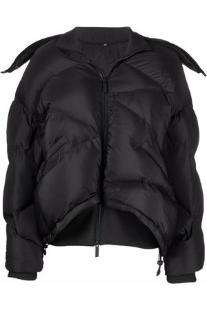MCQ Checked puffer jacket