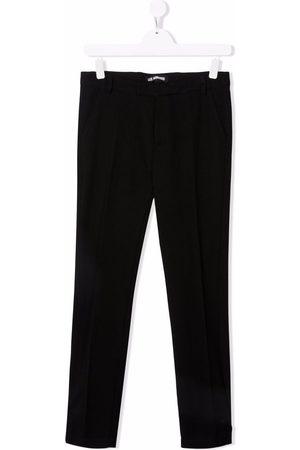 LES HOMMES KIDS TEEN slim cut trousers