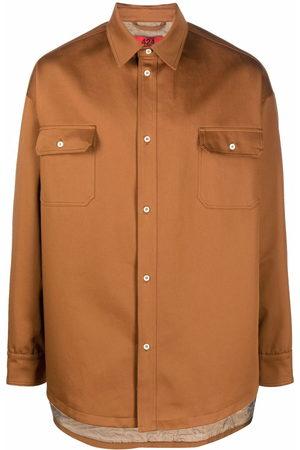424 Long-sleeve shirt jacket - Neutrals
