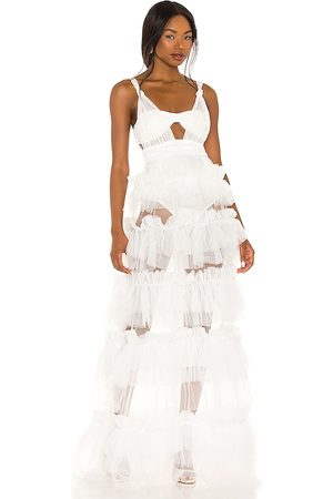 For Love & Lemons X REVOLVE Tiered Gown in . Size S, XS, M, XL.