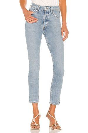 AGOLDE Nico High Rise Slim Jean in . Size 24, 25, 26, 27, 28, 29, 30, 31, 32, 33, 34.