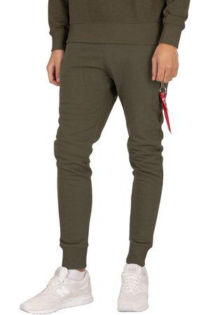 Alpha Industries Men Cargo Trousers - X-Fit Slim Cargo Joggers