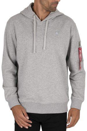 Alpha Industries Men Sweatshirts - X-Fit Pullover Hoodie