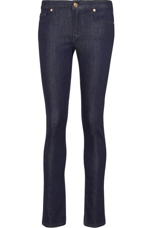 7 For All Mankind Pyper Slim Illusion low-rise jeans