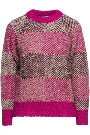 ANTIK BATIK Women Jumpers - Woman Arthur Jacquard-knit Alpaca-blend Sweater Fuchsia Size 36