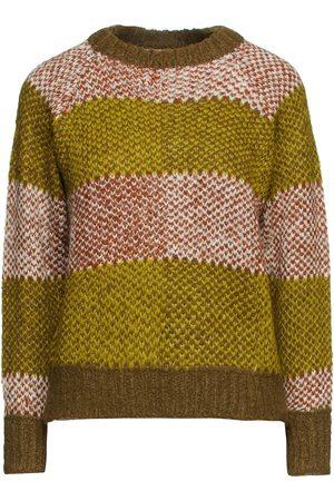 ANTIK BATIK Woman Arthur Jacquard-knit Alpaca-blend Sweater Leaf Size 36